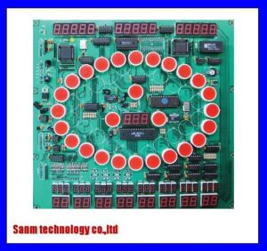 7 Seg LED Display Printed Circuit Board OEM Assembly (MP-330) pictures & photos