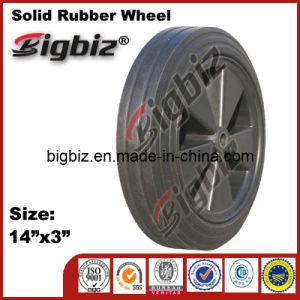 Polyurethane Agricultural Solid Rubber Wheel for Wheelbarrow pictures & photos