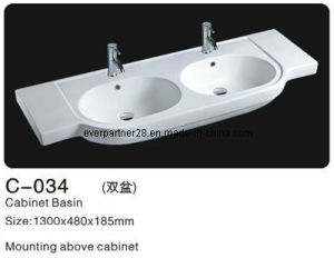 Bathroom Ceramic Cabinet Washsinks, Ceramic Cabinet Basin pictures & photos