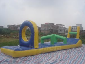 Commercial Grade PVC Tarpaulin Inflatable Water Obstacle Games for Lake