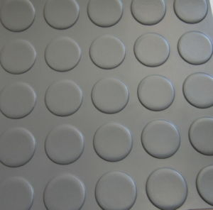 Durable Stable Drainage Mat/Rubber Ring Floor/Circular Studded Rubber Sheet pictures & photos