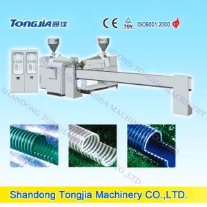 Plastic Machine PVC Rib Spiral Hose Line pictures & photos
