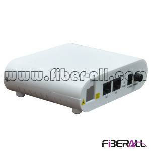 FTTH ONU for Epon with 1 Pon and Two LAN Ports pictures & photos