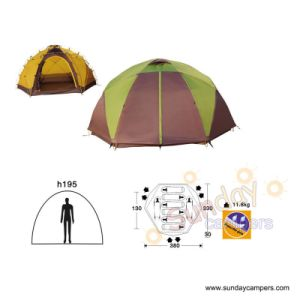 8 Person Double Layers Dome Waterproof Camping Tent (SCC-901) pictures & photos