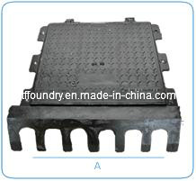 Dn750x750 Manhole Cover with Drain (C250&B125) pictures & photos