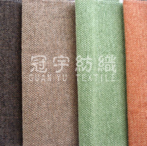 Polyester Chenille Fabric Decorated for Home Textile pictures & photos