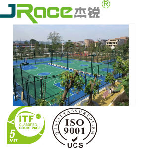 Floor Paint- Sport Floor Surface Outdoor Antiskid Concrete Tennis Court Floor Liquid Plastic Coating pictures & photos