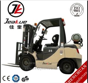 Made in China Jeakue Shanghai 2t/2.5t/3.0t/3.5t LPG Forklift Truck pictures & photos