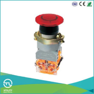 Utl A1 Series Mushroom Push Button with LED Pilot Light pictures & photos