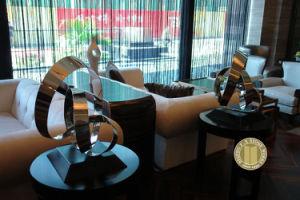 Urban Sculpture, Steel Sculpture, Steel Statue (Stainless -007) pictures & photos