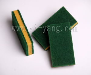 Abrasive Sponge Scouring Pad (YS28) pictures & photos