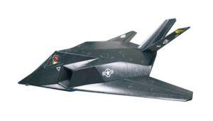 RC Plane Model F117
