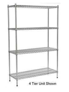 4 Layer Wire Shelf pictures & photos