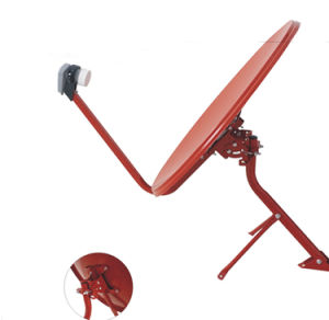 75cm Offset Satellite Dish Antenna with 500 Hours Salt Spray Certification pictures & photos