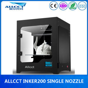 Factory LCD-Touch Whole Sealing 200X200X200mm Fdm Desktop 3D Printer pictures & photos