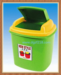 China Quality Colored Plastic Garbage Bin for Office Manufacturer pictures & photos