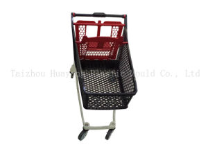Plastic Shopping Cart Mould Super Market Cart Mould pictures & photos