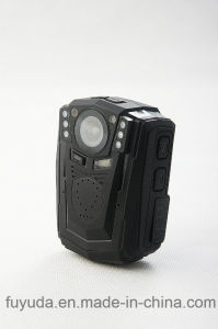 128g Waterproof HD1296p 34W Mini Police Body Worn Camera Body with Night Vision and Alarm pictures & photos
