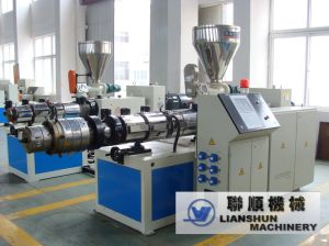CE/SGS/ISO9001 PVC Twin-Screw Plastic Extruder (SJSZ) pictures & photos