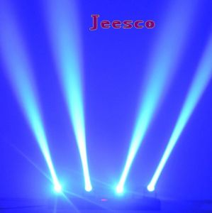 4heads 12W RGBW 4in1 LED Beam Moving Head Light pictures & photos