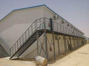 Riyadh Jubail Dammam Yanbu Prefabricated House for Worker Accommodation pictures & photos