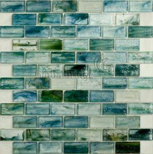 Cream Crackle Antique Glass Mosaic (6CCH325)