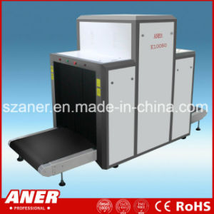 Conveyor Speed K10080 X Ray Baggage Scanner for Government Building pictures & photos
