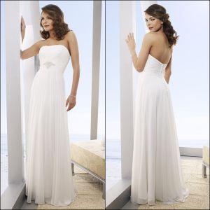 Chiffon Wedding Dress (US6201)