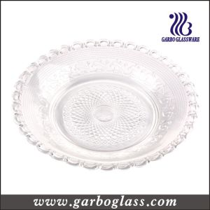 30cm Decorative Glass Dinner Plate (GB2301ZZ-1) pictures & photos