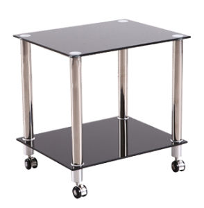 Sundries Tempered Glass Display Table Desk pictures & photos