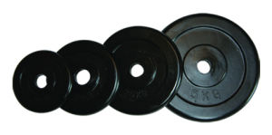 Black Rubber Coated Plate (016410)