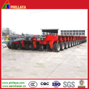 Self-Propelled Hydraulic Platform Trailer Dual Lane Dolly pictures & photos