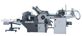 Electric Control Knife Combination Folding Machine (ZYHD490)