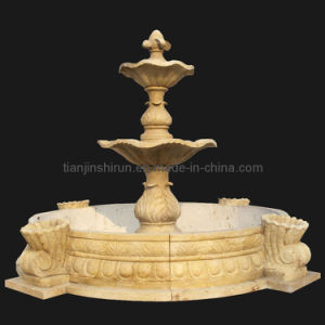 Stone Carving Water Fountain, Garden Fountain, Water Feature (FNT111) pictures & photos