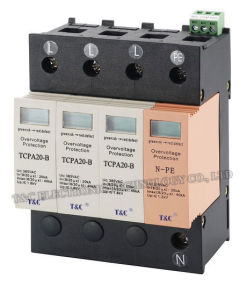 SPD/Power Surge Protection/Surge Arrester (TCPA20-B/3+NPE) with TUV Certificate