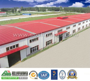 Prefabricated Building Steel Frame for Workshop or Warehouse pictures & photos