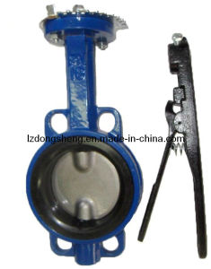 a Type Manual-Operated Wafer Butterfly Valve pictures & photos