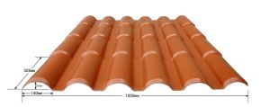 Bamboo Style Synthetic Resin Roof Tile