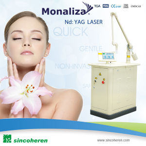 Monaliza Q Switched ND YAG Laser Skin Care Tattoo Removal pictures & photos