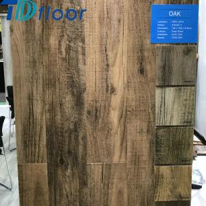 6.5mm Deep Wood Oak Click WPC Floor Wood Plastic Composite Indoor Flooring pictures & photos