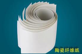 "Kiln Shelf & Glass Mold Liner <Ceramic Fiber Paper> (2300F, 1/32"" X 24"" X 400′)"