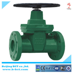 The Largest Valve Manufacture Wholesale Cast Iron BS5163 Resilient Seat Non-Rising Stem Gate Valve Bct-Gv05 pictures & photos