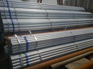 Professional Supply of Galvanized Round Pipe for Construction pictures & photos