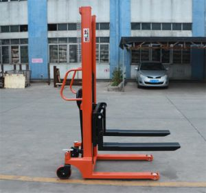 Mini Hand Lifting Manual Stacker pictures & photos