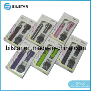Evod Blister Pack Ecigs with Evod Battery. Evod Starter Kit with Evod Atomizer