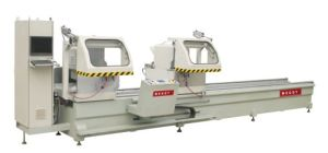 Double-Head Cutting Saw CNC for Aluminum Window & Door 1 pictures & photos