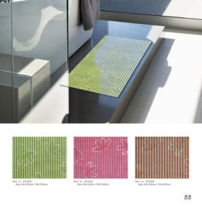 PVC Foam Floor Mat for Hotel Home Use, Bathroom Floor Mat pictures & photos