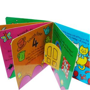 Full Color Children Board Book (OEM-CB002) pictures & photos