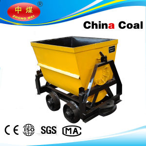 600mm Gauge Bucket Tipping Mine Car