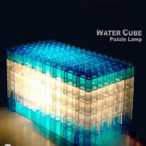 Water Cube Block Lamp (62109) pictures & photos